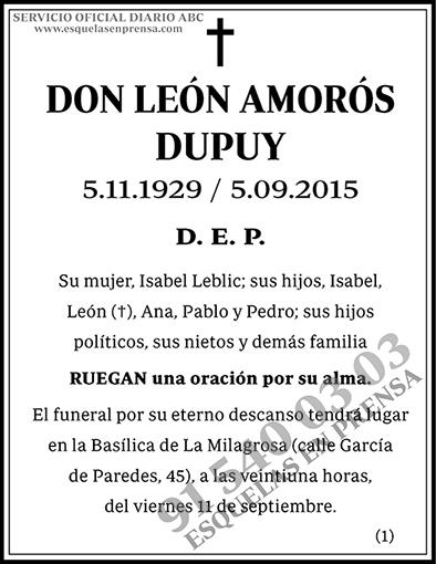 León Amorós Dupuy